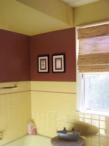 Yellow Tile Bathroom Paint Colors by Bathroom Color Creative Yellow Tile Bathroom Paint