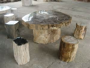 Petrified wood manufacturer wholesale and retail petrified wood table