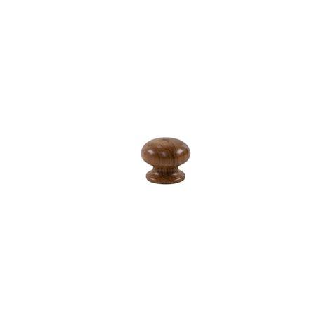 sylvan convex wooden door knob 35mm polished rimu