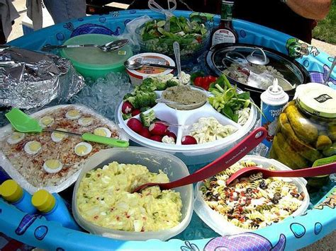 picnic keep foods cool in a pool food ideas and tips pinterest