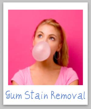 how to remove chewing gum from sofa chewing gum stain removal guide