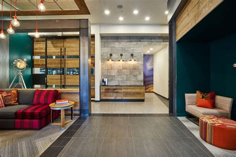 Multifamily Design by Portland Interior Design Firm Uses Creative Color