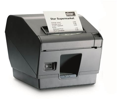 receipt for thermal printer template micronics tsp743ii thermal receipt printer usb