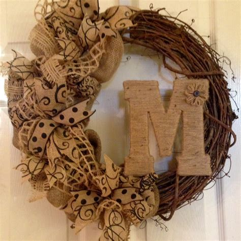 How To Decorate A Grapevine Wreath by Burlap And Grapevine Wreath Wonderful Grapevine Wreath