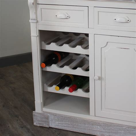Kitchen Wine Rack Cabinet by Lyon Range Kitchen Cabinet With Wine Rack Melody Maison 174