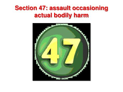 section 47 oapa s 47 oapa abh