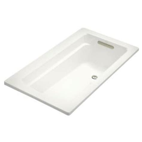 kohler archer 5 ft bubblemassage air bath tub in white k