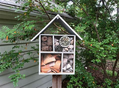 mason bee house children s garden volunteer creates mason bee house to help pollinators lewis ginter