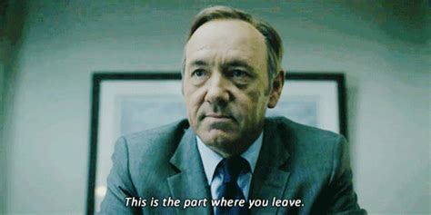 Frank Underwood Meme - house of cards chapter 9 gif find share on giphy
