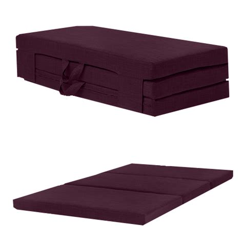 Folding Foam Bed by Fold Out Guest Mattress Foam Bed Single Sizes