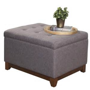 decor chic upholstered ottoman coffee table for living