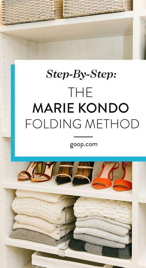konmari method folding guide  clothes decluttered