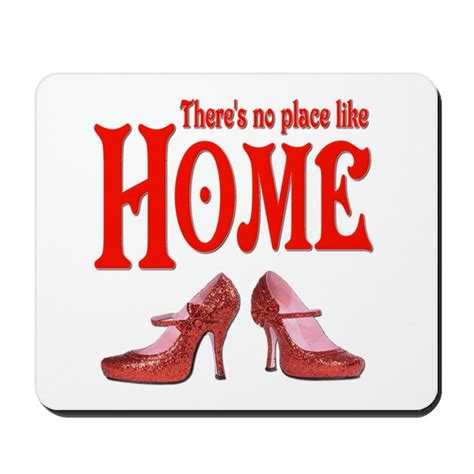 there s no place like home wizard of oz mousepad by