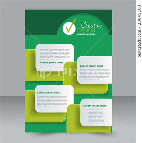 A4 Flyer Template brochure design flyer template a4 poster stock