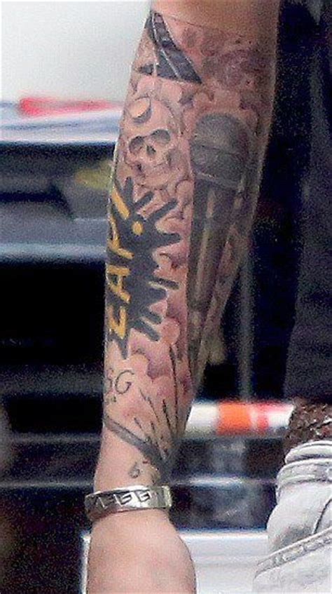 Zayns Malik 93 One Direction Sleeve photos zayn malik completes half sleeve classic atrl