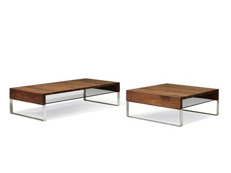 Low Coffee Table Wood Low Wooden Coffee Table For Living Room Aditi By Leolux
