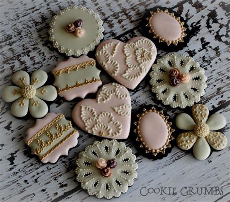 cake chic galletas french shabby chic cookies cookie connection