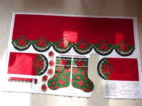 pattern for christmas mantel scarf pin by bonnie s vintage attic on bon s vintage attic