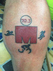 half ironman tattoo designs i like this for a half ironman the mdot w out