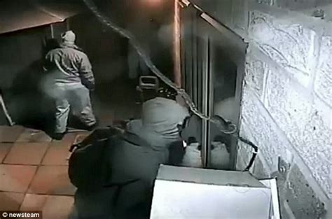 how to break in a house window crooks turn cctv cameras towards themselves before breaking into house daily mail online