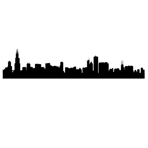 Skyline Outline by Chicago Skyline Outline Clipart Best
