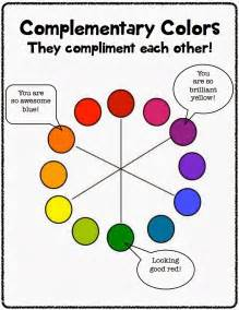 what color compliments the artsy fartsy room 3rd grade complimenting
