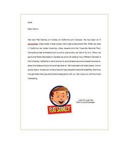 Flat Stanley Letter Template by 37 Flat Stanley Templates Letter Exles Template Lab