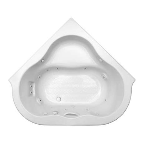 54 bathtub american standard american standard chion corner 4 5 ft x 54 5 in x 21