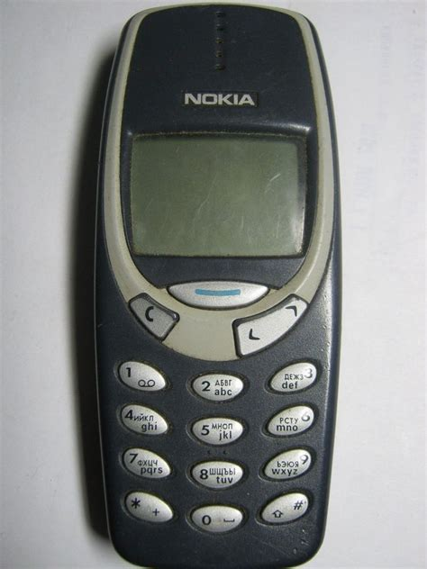 nokia 3310 cell phone mobile cellular phone nokia 3310 nhm 5nx for parts or