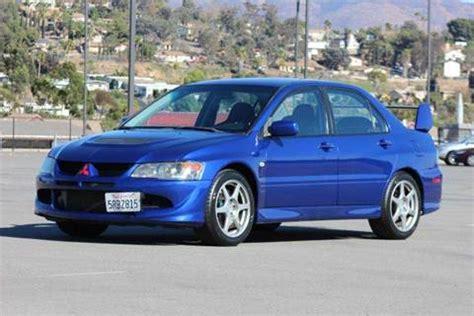 mitsubishi lancer evolution 2005 for sale 2005 mitsubishi lancer evolution for sale carsforsale