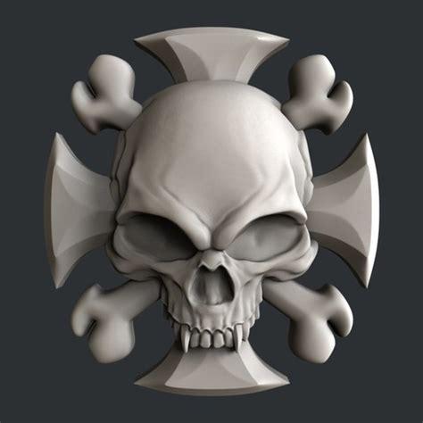 3d print files 3d models skull ・ cults