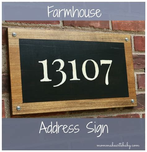 curb appeal signs add curb appeal and create your own farmhouse address sign