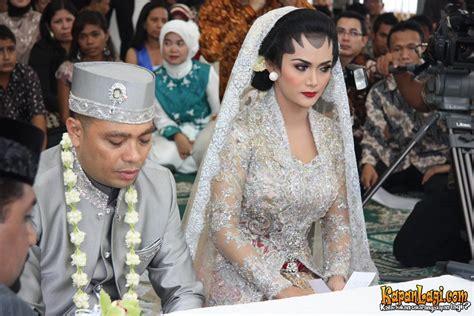 Vs Setelan Mulan krisdayanti raul resmi menikah kapanlagi