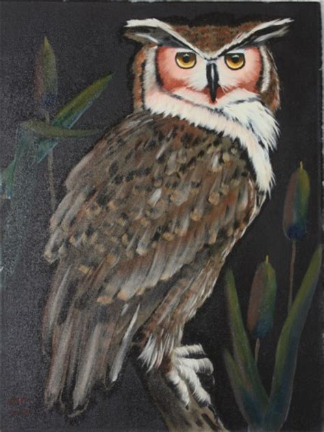 bob ross paintings of animals aintings of owls images frompo 1