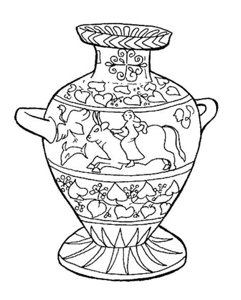 vasi greci da colorare midisegni it disegni da colorare per bambini