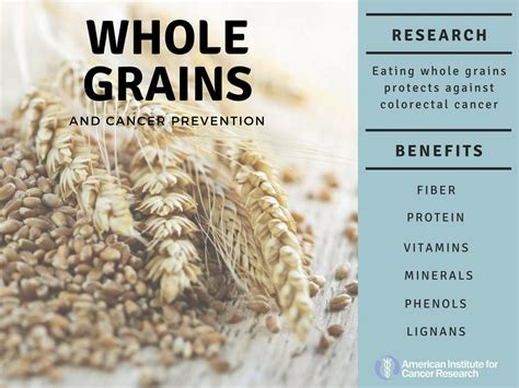 whole grains how much whole grains how much do you need for lower cancer risk