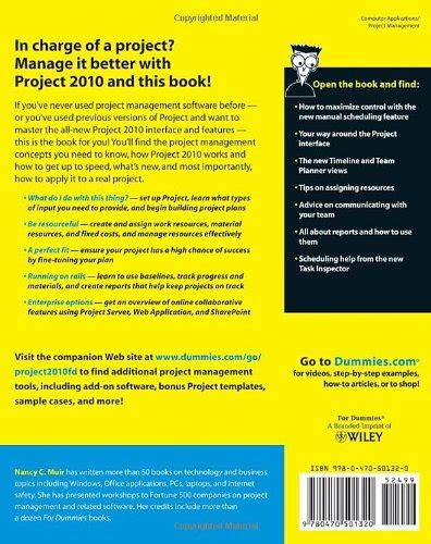 Project 2010 For Dummies project 2010 for dummies toolfanatic