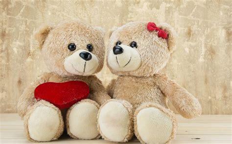 wallpaper of couple teddy bear download wallpapers teddy bears 5k heart couple for