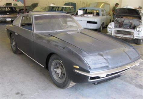 Lamborghini Project Car For Sale Cv Joint Casualty 1968 Lamborghini Islero Bring A Trailer