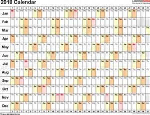 Calendar 2018 Empty 2018 Calendar Excel Blank Calendar Templates