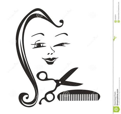 hairdresser stock illustration image of curl hairiness