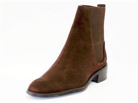 pazzo anguish womens low heel ankle boots brown 7 5