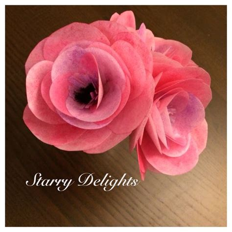 Rice Paper Flower Tutorial | rice paper flower tutorial cakes wafer paper pinterest