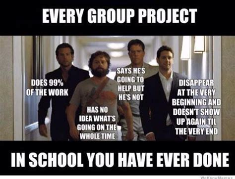 Done With School Meme - funny on sunday every group project in school you have