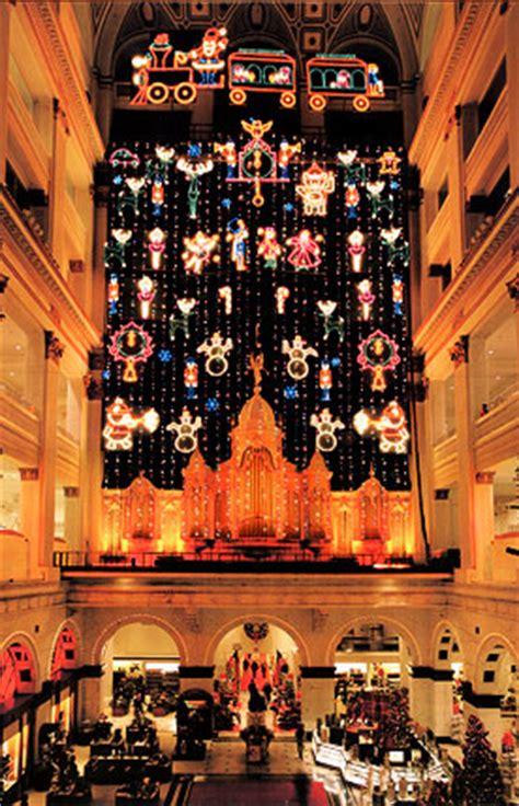macy s christmas light show friends of the wanamaker organ