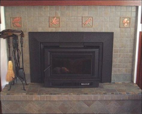 Fireplace Tile Home Depot by 1000 Images About Tiled Fireplaces Tiled Fireplace