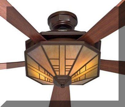 19 Best Ceiling Fans With Lights Mission Arts And Mission Style Ceiling Light
