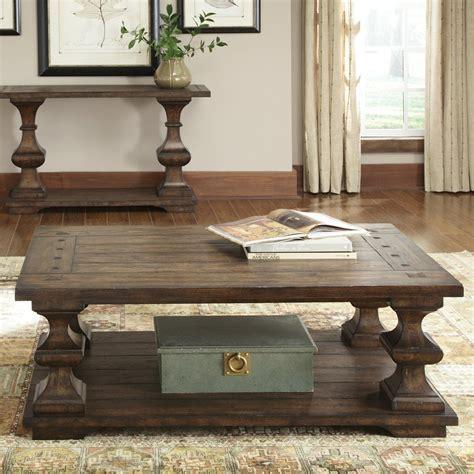 liberty sofas shop liberty furniture sedona oak coffee table at lowes com