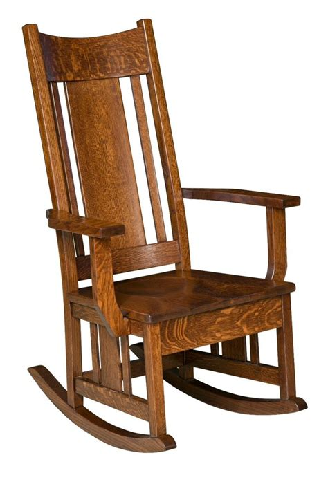 solid wood rocking chair ebay amish mission craftsman solid wood rocking chair rocker