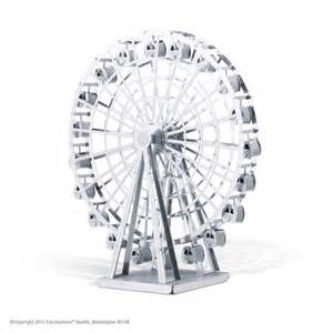 Metal Earth Ferris Wheel  Eugene Toy &amp Hobby sketch template